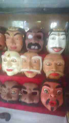 Topeng Bali (Pajegan) Ritual Bali - Geriya Mas Oka Kelan